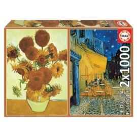 Puzzle 1000x2 Van Gogh