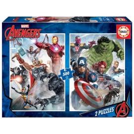 Puzzle 500X2 Avengers