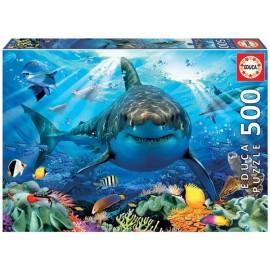 Puzzle 500 Gran Tiburon