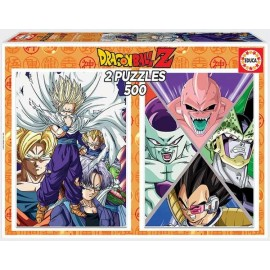Puzzle 500X2 Dragon Ball