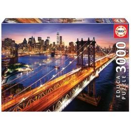 Puzzle 3000 Manhattan al Atardecer