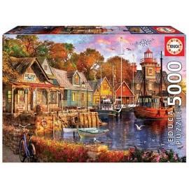 Puzzle 5000 Atardecer en el Puerto