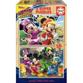 Puzzle 16x2 Mickey