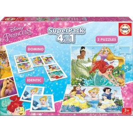 Superpack 4 en 1 Princess