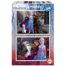 Puzzle 100x2 Frozen 2