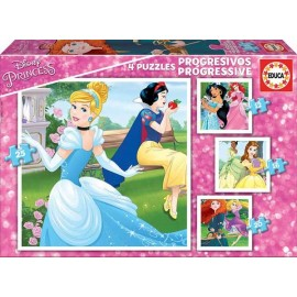 Puzzle Progresivo Princess