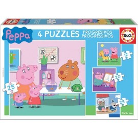 Puzzle Progresivo Peppa Pig