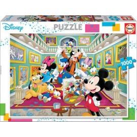 Puzzle 1000 Galeria de Arte Mickey