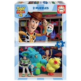 Puzzle 48x2 Toy Story 4