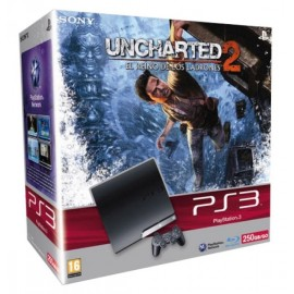 Playstation 3 - 250Gb. + Uncharter 2