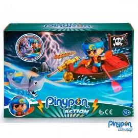Pin y Pon Action Bote Pirata