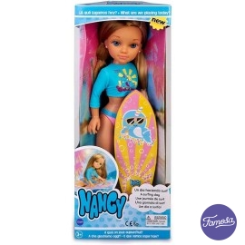 Nancy un día Haciendo Surf