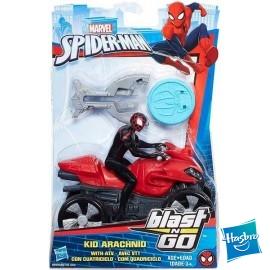 Spiderman Moto Blast´n Go Surtido