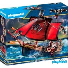 Barco Pirata Calabera 70411