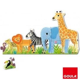 Puzzle Decreciente XXL Selva
