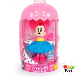 Minnie Fluffy Flamingo