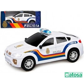 Coche Policia Salvaobstaculos