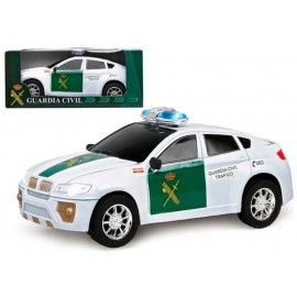 Coche Guardia Civil Salvaobstaculos