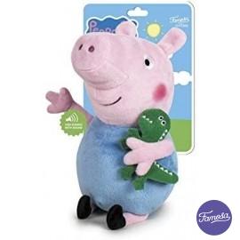 Peluche Peppa Pig George 27cm.
