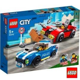 Lego Arresto en Autopista