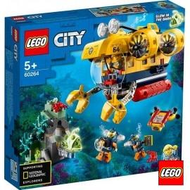 Lego City Oceano Submarino