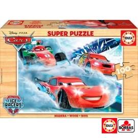 Puzzle 100 Cars Madera