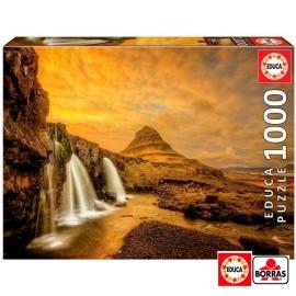 Puzzle 1000 Cascada Islandia