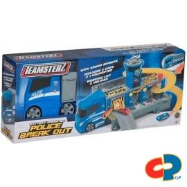 Camion Estacion de Policia Teamsterz