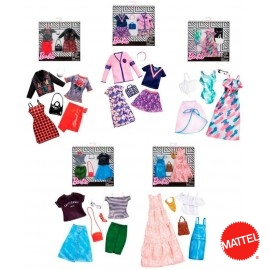 Pack 2 Vestidos Barbie