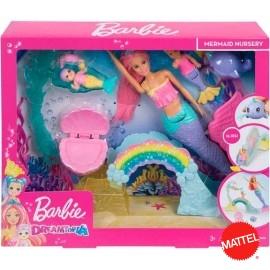 Barbie Sirena y Sirenitas
