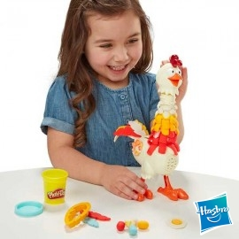 Play Doh Gallina Plumas Divertidas