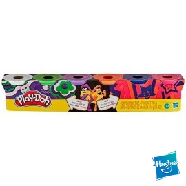 Play Doh Pack 6 Botes