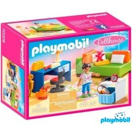 Habitacion Adolescente Playmobil