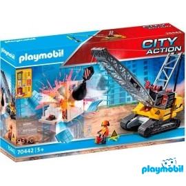 Excabadora Oruga Playmobil