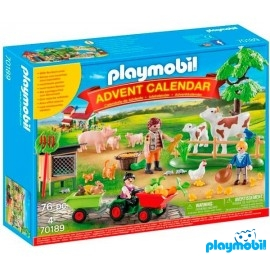 Calendario Granja Playmobil