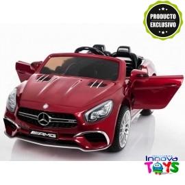 Mercedes SL65 AMG 12v. R/C Rojo Metalizado