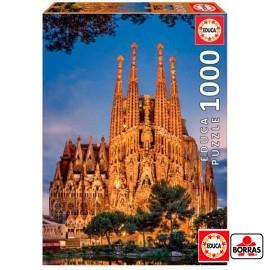 Puzzle 1000 Sagrada Familia