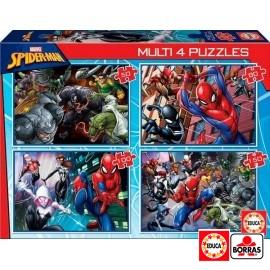 Puzzles Porgresivos Spiderman