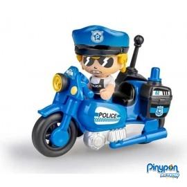 Pin y Pon Moto Policia