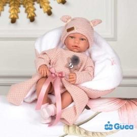 Muñeca Blanca Llorona 38 cm.