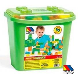 Cubo Bloques 90 Piezas