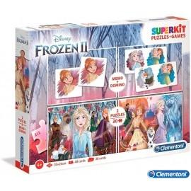 Puzzle Memo y Domino Frozen