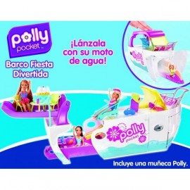 Polly Pocket Barco Fiesta Divertida