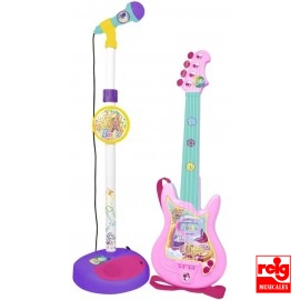 Micro y Guitarra Barbie