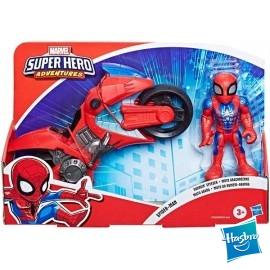 Moto Araña Spiderman