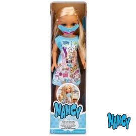 Nancy Un Dia con Mascarilla