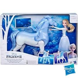 Frozen Elsa con Caballo