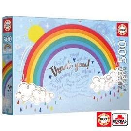 Puzzle 500 Rainbow