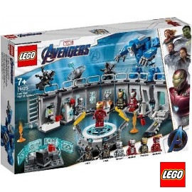 Lego Iron Man Sala Armaduras