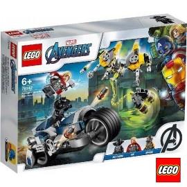 Lego Ataque de Motos Avengers